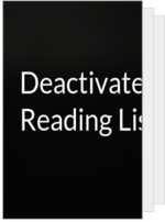 Deactivated_'s Reading List