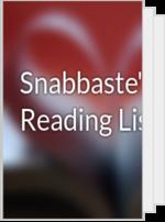 Snabbaste's Reading List