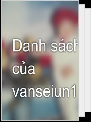 Danh sách đọc của vanseiun106