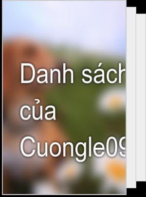 Danh sách đọc của Cuongle09032015