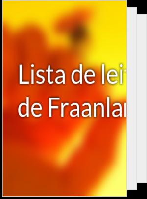 Lista de leituras de Fraanlandya