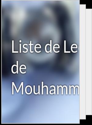 Liste de Lecture de Mouhammad0u