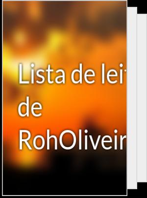 Lista de leituras de RohOliveira07
