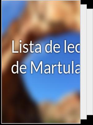 Lista de lectura de Martulanga4