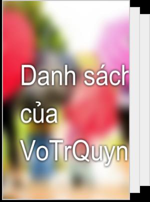 Danh sách đọc của VoTrQuynh