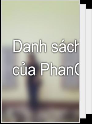 Danh sách đọc của PhanCt