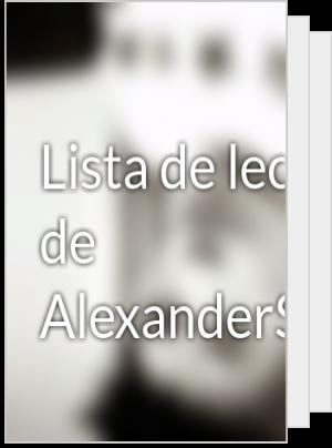 Lista de lectura de AlexanderSanchex
