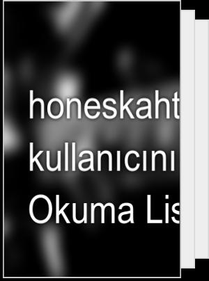 honeskaht adlı kullanıcının Okuma Listesi