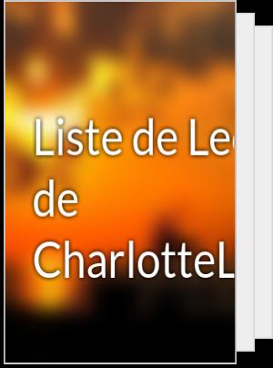 Liste de Lecture de CharlotteLutard
