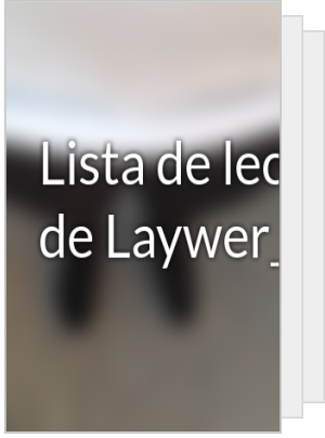 Lista de lectura de Laywer_01