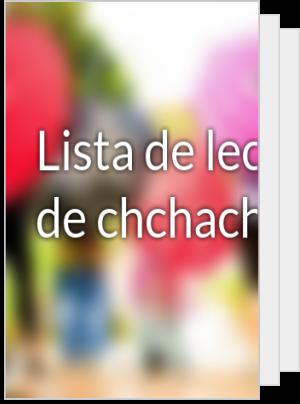 Lista de lectura de chchachcha
