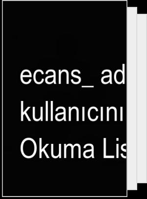 ecans_ adlı kullanıcının Okuma Listesi