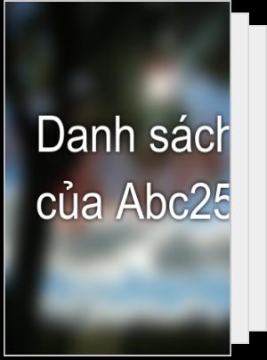 Danh sách đọc của Abc2504