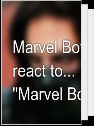 "Marvel Boys react to... ""Marvel Boys""! 😏"