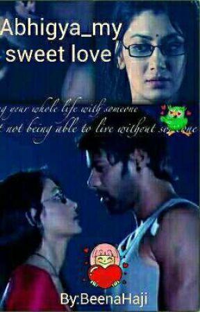 Abhigya_my sweet love  by BeenaHaji