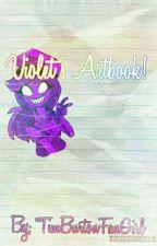 Violet's Artbook!  by TimBurtonFanGirl