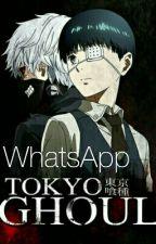Whatsapp Tokyo Ghoul y Tú by PatataFujoshi575