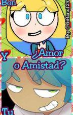 ¿Amor O Amistad? (Bon Y Tu) [fnafhs] by Giffany1234