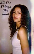 All The Things She Said (Girl x Girl) by GilDiazCruz