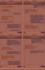 Fairy Tail texts... by RedRidingInDaHood