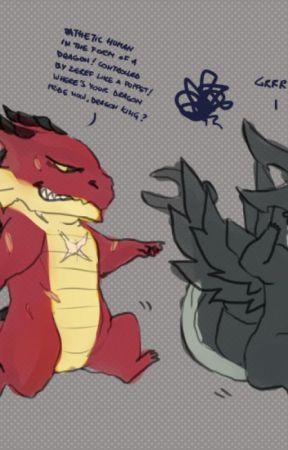 The love of a Dragon's Roar by AngelZWolf