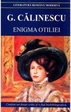 Enigma Otiliei - George Călinescu  by DamianIli