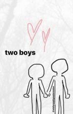 Two Boys by wishywashywatermelon