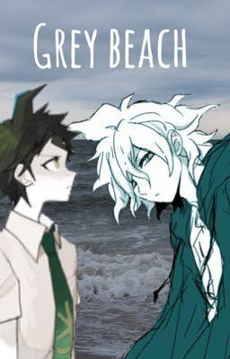 Grey Beach Hajime Hinata X Fem Reader X Nagito Komaeda