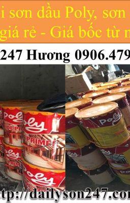 Đại lý sơn dầu Poly 233 giá rẻ tại Cần Thơ!
