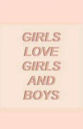 •Girls love•GirlxGirl•  by sydaenkipu