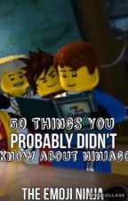 50 Things You Probably Didn't Know About Ninjago by TheEmojiNinja