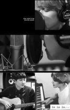 His voice. by hyunieeeee