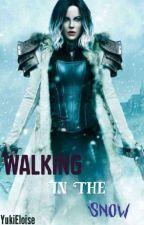 Walking in the snow by ehlojames