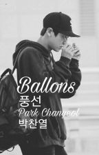 Balloons ~ Park Chanyeol by Ola_vc