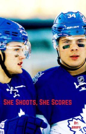 She Shoots, She Scores (Auston Matthews, William Nylander, Mitch Marner) by briipx
