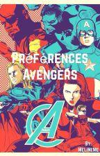 Préférences Avengers by MeLiNeMe