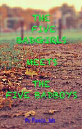 THE FIVE BADGIRLS MEETS THE FIVE BADBOYS by Panda_lols
