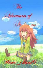 The Adventures of Ao [ Akatsuki no Yona fanfic] by Hime_chan10