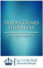 Traducciones  [ Translation Corona ✓] by comunidadlacorona
