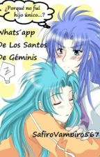 Whats'apps De Los Santos De Géminis  by SafiroBipolar567
