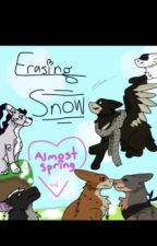 Erasing snow || art book 9 by ShadowFlight_Draws