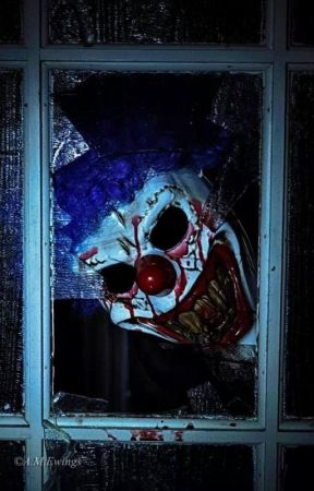 Clown in the Window by GageLeBlanc2