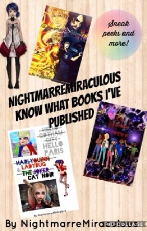 Know what books I've published  by NightmarreMiraculous