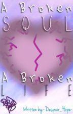 A broken soul,a broken life (a sans x light pink soul!reader) by littledespairgirl