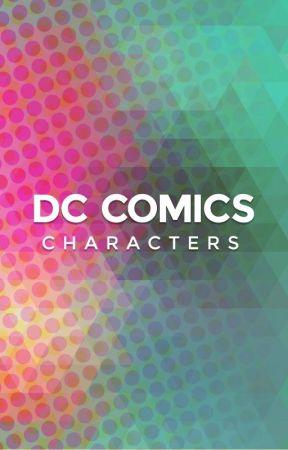 DC Comics Characters by projectcomics