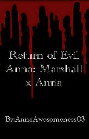 Return of Evil Anna: Marshall x Anna by AnnaHedgehog13