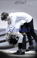 """""""Friends?"""" //Jikook by xBTSx7"""