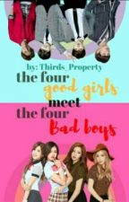 ♥The Four Good Girls Meets  The Four Bad Boys♥ by PINKY_CHILDISH