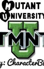 Mutant University (TMNT) by CharacterBios