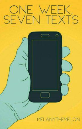 One Week, Seven Texts (A Sans x Reader) by MelanyTheMelon